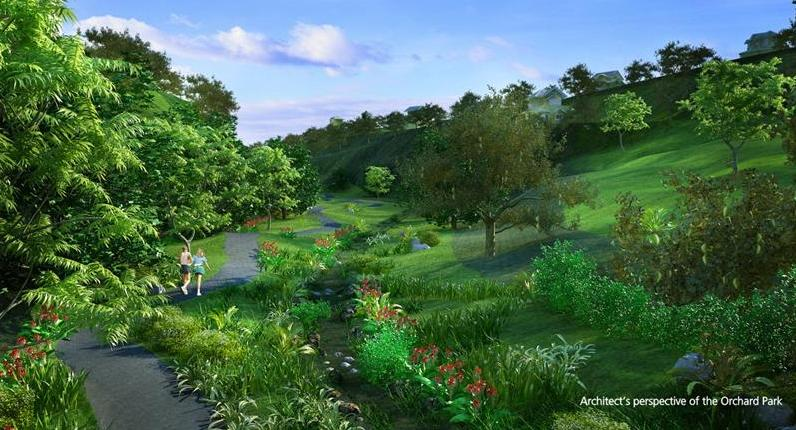 Ayala westgrove heights ayala land broker for Orchard park