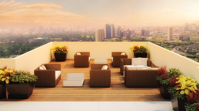 Roof Deck Lounge