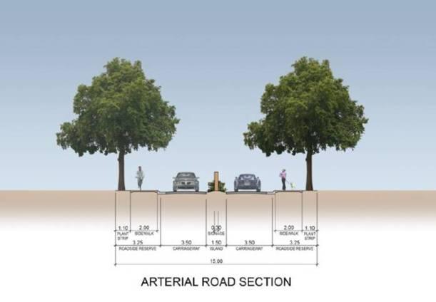 Luscara-Arterial Road