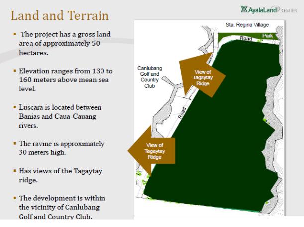 Luscara-Land & Terrain