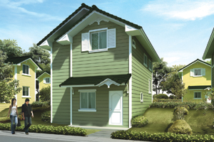 ARDEN Basic/Standard Floor Area: 98 sq.m. Minimum Lot Area: 145 sq.m.