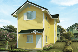 ASHBY Basic/Standard Floor Area: 84 sq.m. Minimum Lot Area: 128 sq.m.
