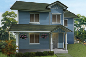 TRIANA Basic/Standard Floor Area: 131 sq.m. Minimum Lot Area: 194 sq.m.