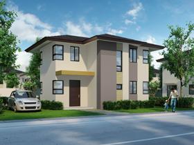 BIRCH HOUSE MODEL Basic/ Standard Floor Area: 88 sq. m. Minimum Lot Area: 163 sq. m.