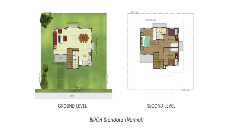 Basic/ Standard Floor Area: 88 sq. m. Minimum Lot Area: 163 sq. m.