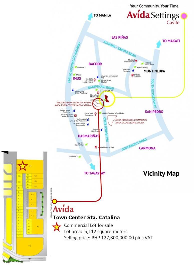 Catalina-CommercialLot-Vicinity