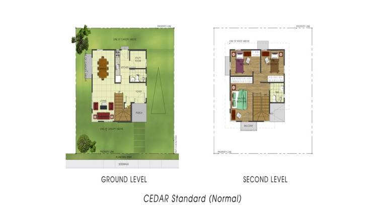 Basic/ Standard Floor Area: 98 sq. m. Minimum Lot Area: 149 sq. m.