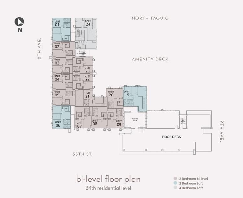 Montane Bilevel 34th Floor